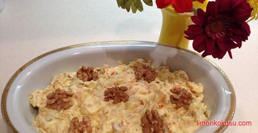 Coleslaw (Beyaz Lahana) Salatası Tarifi