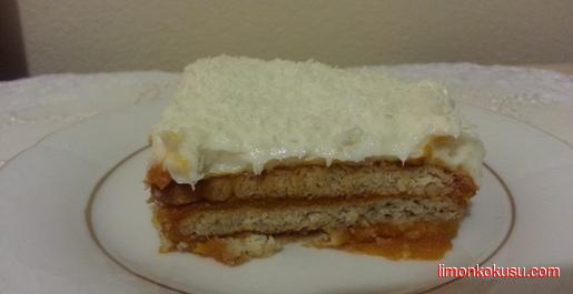 Balkabaklı Bisküvi Pastası Tarifi
