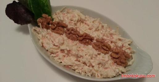 Ekşi Elmalı Kereviz Salatası Tarifi