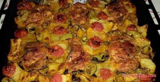 Fırında Tavuk Biftek Tarifi