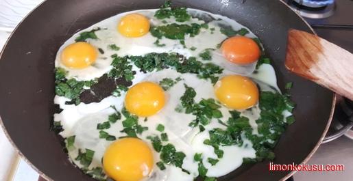 Yumurtalı Taze Soğan Tarifi