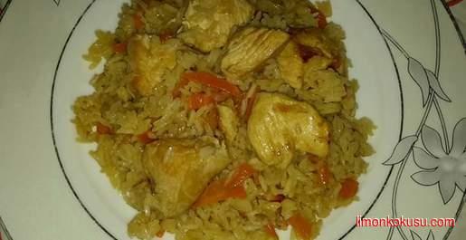 Tavuklu Yasemin Pirinç Pilavı Tarifi
