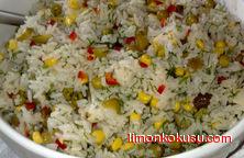 Pirinçli Çin Salatası Tarifi