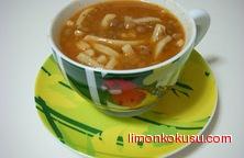 Erişteli Mercimek Çorbası Tarifi