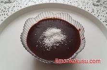 Çikolata Parçalı Puding Tarifi