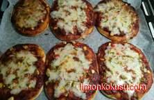 Porsiyon Pizza Tarifi