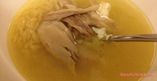 Tavuk Suyu Çorbası Tarifi
