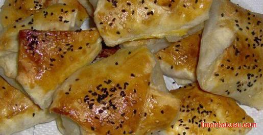 Patlıcanlı Milföy Böreği Tarifi