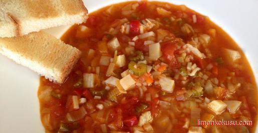 Sebzeli Kış Çorbası Tarifi