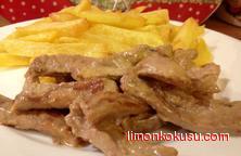 Kremalı Biftek Tarifi