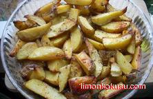 Baharatlı Elma Dilim Patates Tarifi